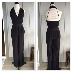 Express jumpsuit NWT black one piece